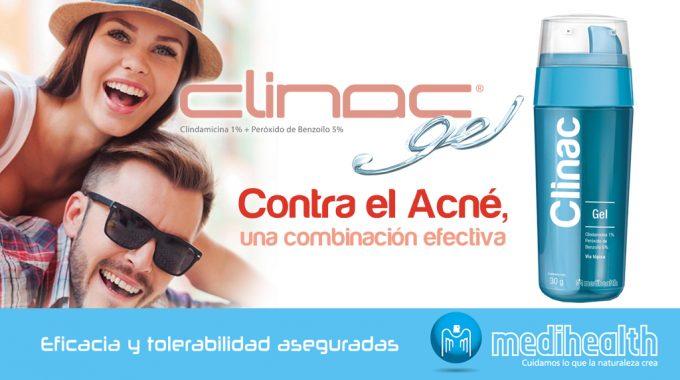 Clinac, Efectiva Acción Antibacteriana Y Queratolítica Contra El Acné Vulgar.