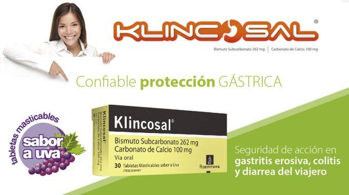 Klincosal Tabletas, Efectivo Tratamiento Para La Hiperacidez Gástrica.