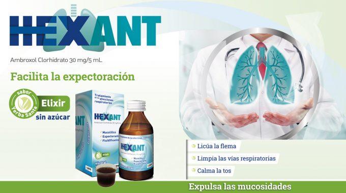 Hexant, Tratamiento De Las Afecciones Respiratorias